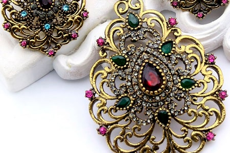 joyas antiguas, broche antiguo