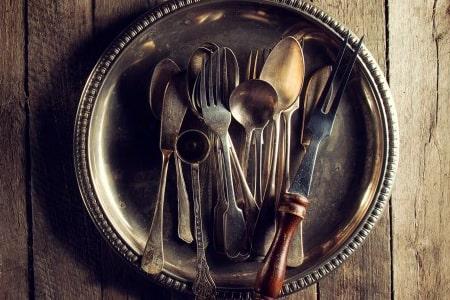 menaje de cocina antiguo