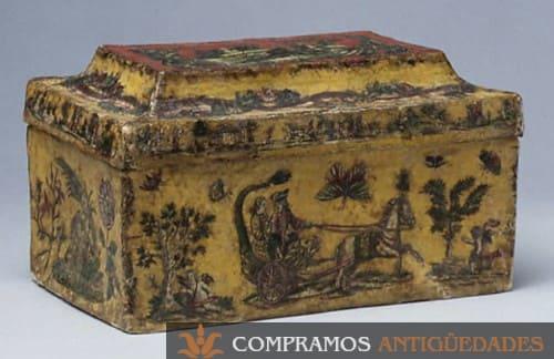 comprador de cajas antiguas