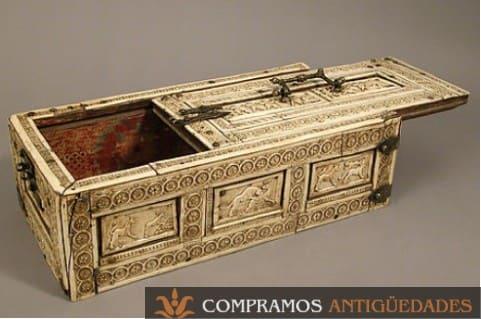 caja de marfil