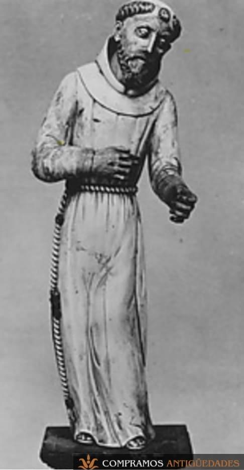 Sanjuanito de marfil antiguo
