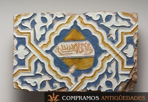 escudo en azulejo