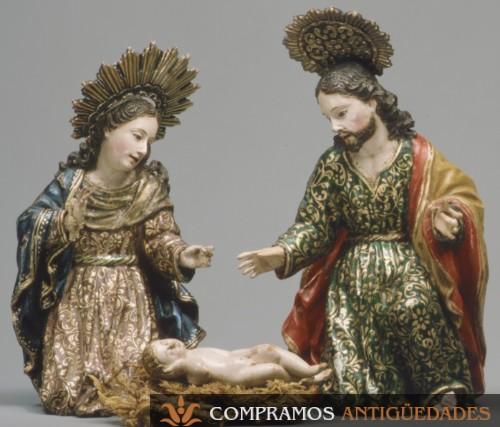Escultura Quito religiosa antigua Caspicara