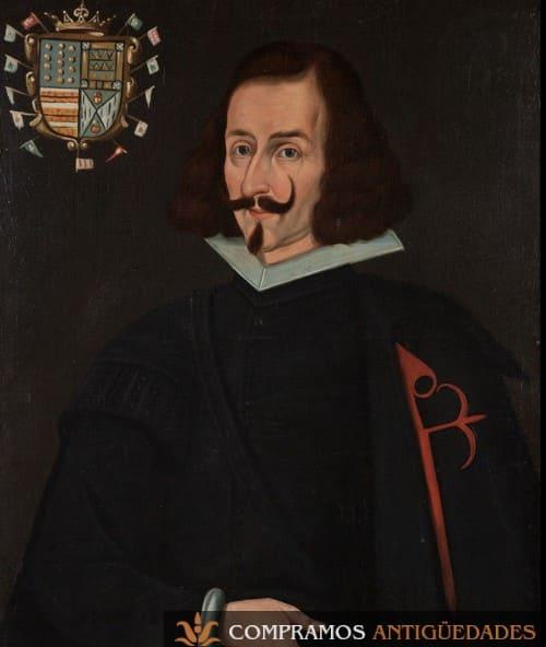 16-retrato-siglo-xvii-vender-virrey-peru-sarmiento