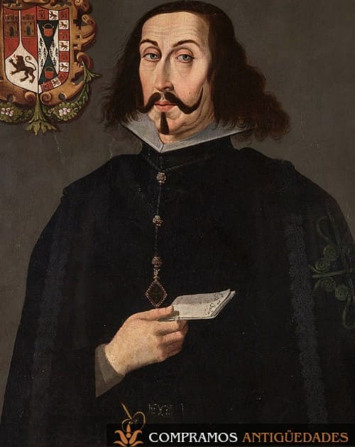 17-retrato-siglo-xvii-virrey-peru-enríquez-guzman