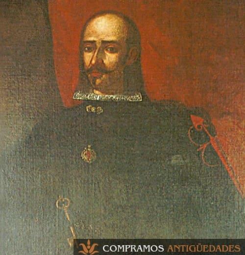 20-pintura-siglo-xvii-compra-virrey-peru-conde-castellar