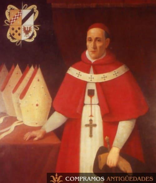 27-cuadro-antiguo-sacerdote-virrey-peru-morcillo