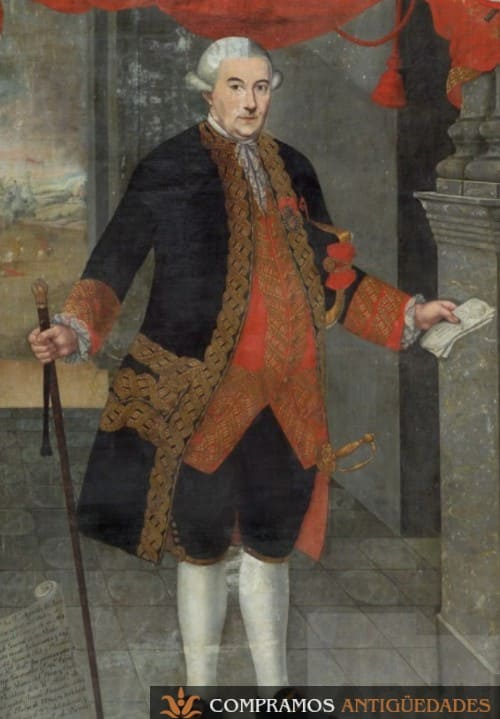 33-cuadro-siglo-xviii-oleo-virrey-jáuregui