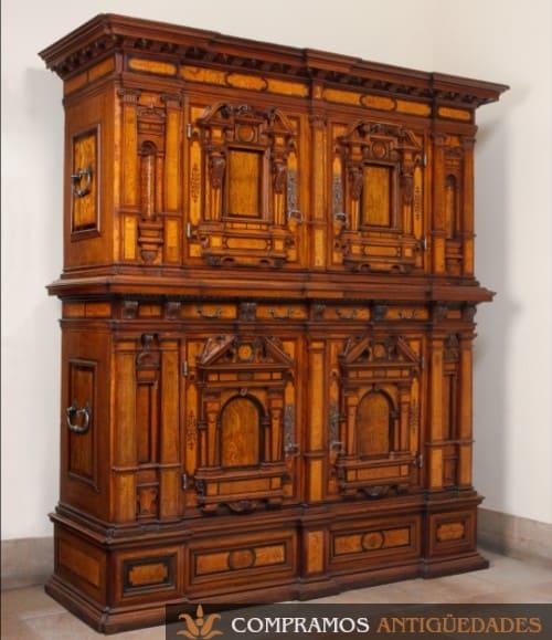 bargueño siglo xvi renacentista compradores, Compramos bargueños antiguos de estilo renacentista