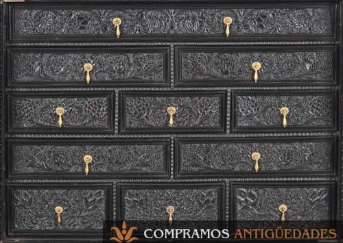 bargueños ebano siglo xvii vender, Bargueños castellanos