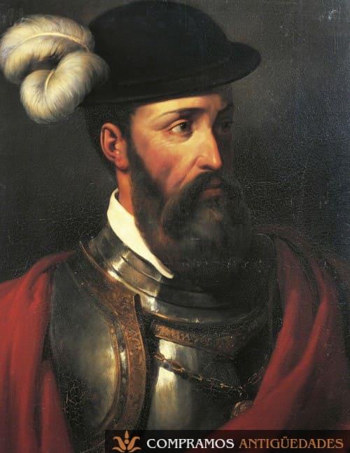 retrato-gobernador-peru-francisco-pizarro