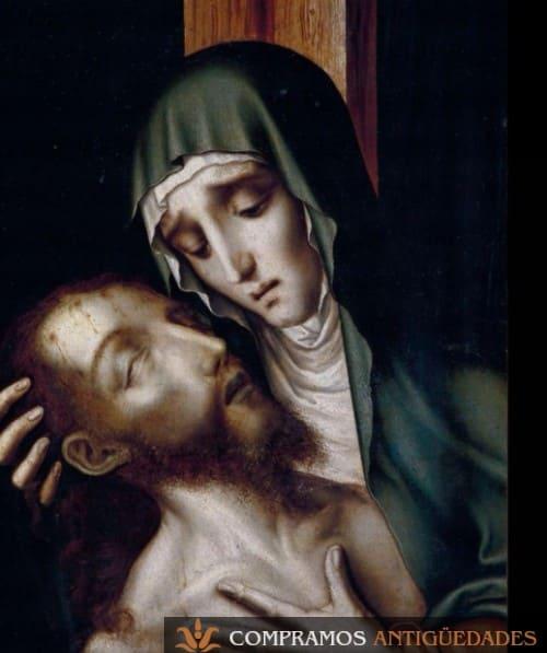 Compramos cuadros antiguos del siglo XV, compra venta de cuadros del siglo XVI