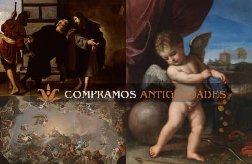 Cuadros antiguos, compro pinturas antiguas de todo tipo online, ¡Aprovecha para vender cuadros antiguos al mejor precio!