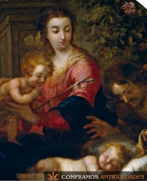 Cuadros religiosos antiguos, compra venta de cuadros religiosos, compramos cuadros antiguos al mejor precio
