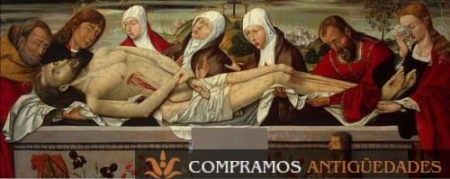 Vender cuadros antiguos del siglo XV., comprador de cuadros del siglo XV
