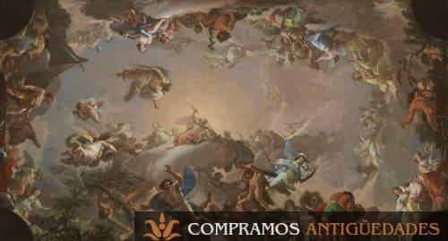 Compramos cuadros del siglo XVIII, compra venta de cuadros del siglo XVIII