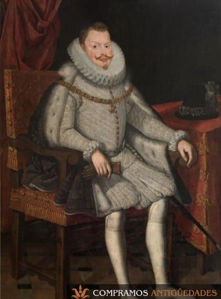 Retrato del rey Felipe III, Retratos antiguos de reyes, retratos de reyes