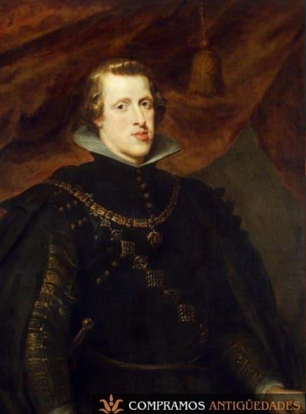 Retrato del rey Felipe IV, Retratos antiguos de reyes, compramos retratos de reyes
