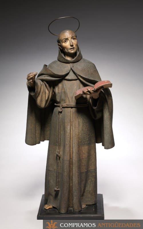 Compradores de Esculturas Antiguas, escultura antigua de madera, escultura religiosa